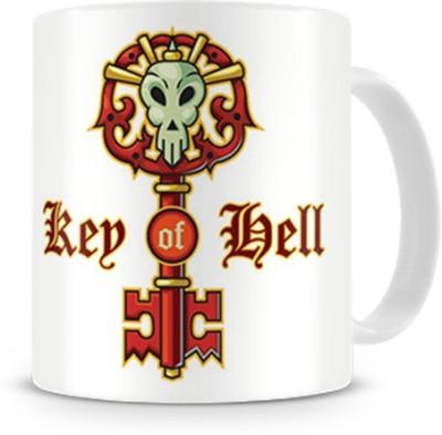 Print Haat Key of Hell Ceramic Mug