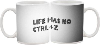 Goonlineshop Life Has No CTRL+Z Ceramic Mug