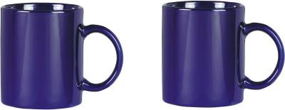 CreativesKart Indigo Blue Super Saver  Ceramic Mug