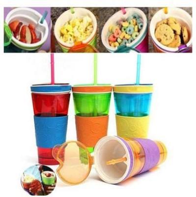 JLT 2 in 1 Snack & Drink cup Plastic Mug