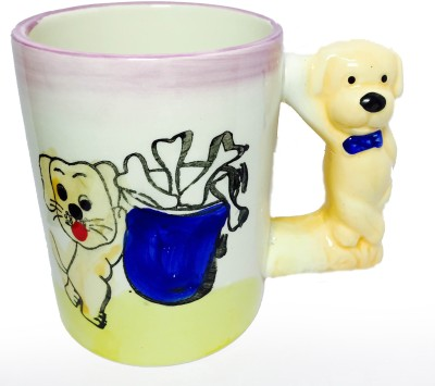 SCORIA animal shaped mug (dog) Ceramic Mug