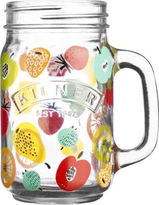 Kilner FRUIT PUNCH HANDLE MUG Glass Mug