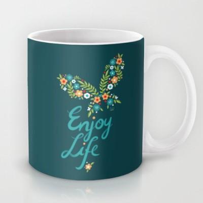 Astrode Enjoy Life Ceramic Mug