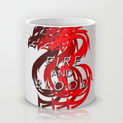 Astrode House Targaryen Game Of Thrones Ceramic Mug