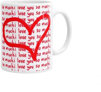 Hainaworld Heart Drawing Coffee  Ceramic Mug