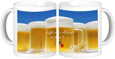 Shopmillions Life is Short Ceramic Mug
