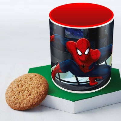 Posterboy Spider-Man in action (Officially Licensed) Ceramic Mug
