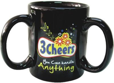 Red Moments Cheers Ceramic Mug