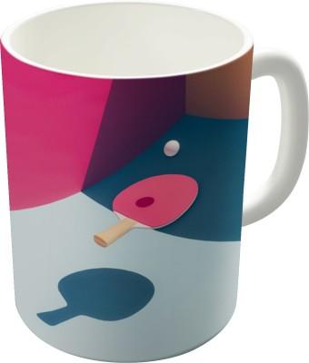 Dreambolic Pop Pong Ceramic Mug