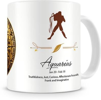 Print Haat Aquarius Zodiac Ceramic Mug