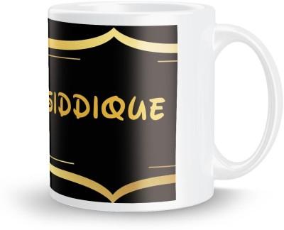 posterchacha Siddique Name Tea And Coffee  For Gift And Self Use Ceramic Mug