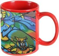 Printland Printland Magnetic Red Coffee 350 - ml Ceramic Mug(350 ml) best price on Flipkart @ Rs. 349