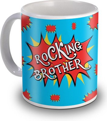 Sky Trends Rocking Brother Gifts For Birthday Ceramic Mug