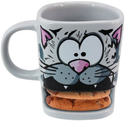 Its Our Studio Brew Cat Ceramic Mug