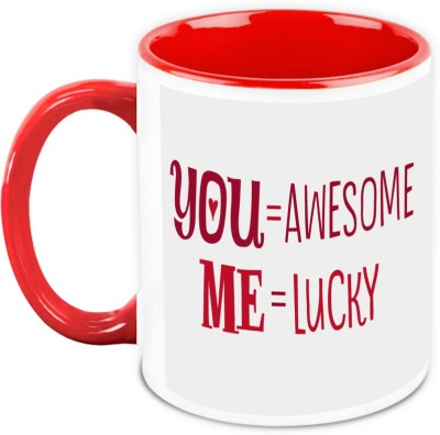 HomeSoGood Gift For Him/Her - You Are Awesome Ceramic Mug