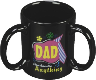 Red Moments DAD Ceramic Mug