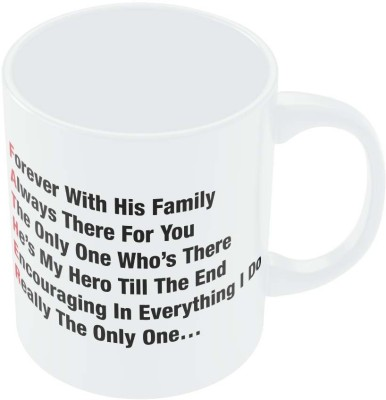 PosterGuy Father,s Day Typography Defination Gift Ceramic Mug