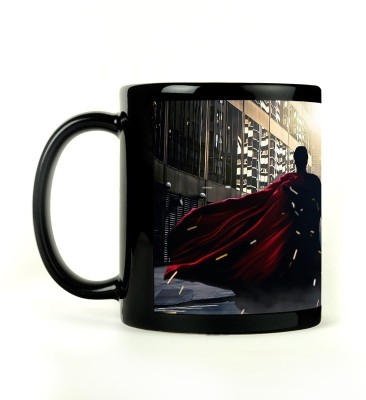Shoperite Superman Batman Union Ceramic Mug