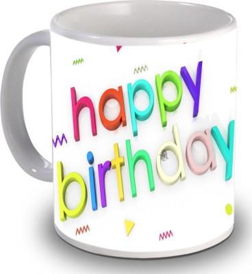 Print Helllo Happy Birthday R118 Ceramic Mug