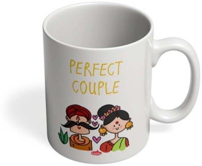 PosterGuy Perfect Desi Couple! Perfect, Couple,Desi,Love,Husband,Wife,Inlove,Posing,Photoshoot,Couplelove,Valentine,Desilove Ceramic Mug