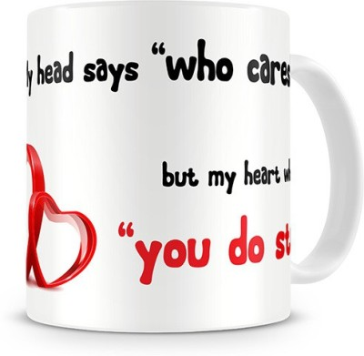 Print Haat Love Quote You Do Ceramic Mug