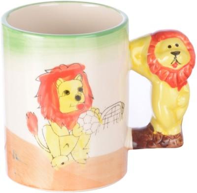 DRL Baby Lion Sketch Bone China Mug