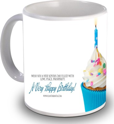 Print Helllo Happy Birthday R169 Ceramic Mug