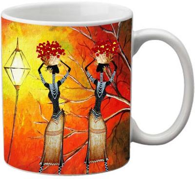 Romanshopping Two Lady  Bone China Mug
