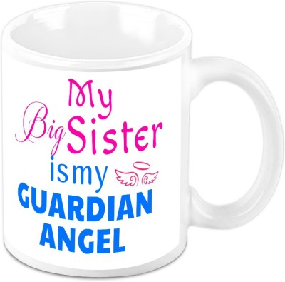 HomeSoGood My Sister Is My Guardian Ceramic Mug