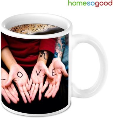 HomeSoGood Awesome Love Bonding Ceramic Mug