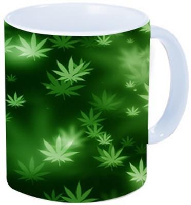 Rawkart Weed green Ceramic Mug