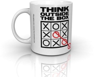 Bcreative Think Outside The Box (Officially Licensed) Ceramic Mug