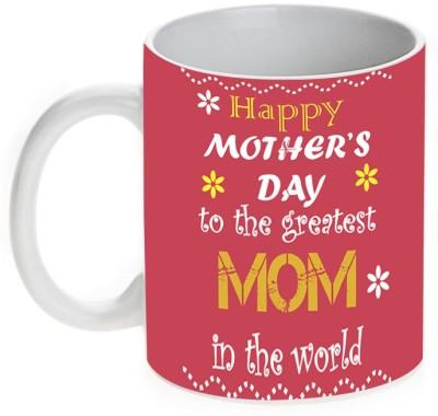 Mugwala Greatest Mom in the World-Mother's Day Ceramic Mug