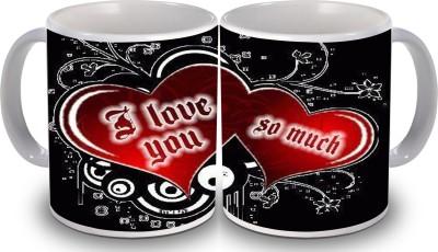 PSK I love you Set of two 118 Ceramic Mug
