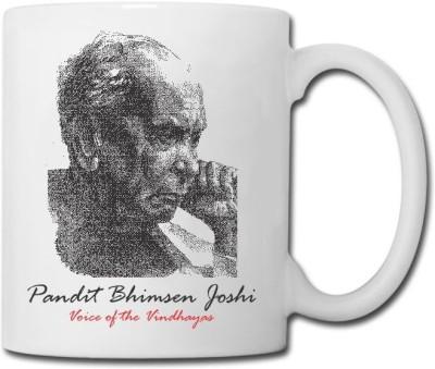 Raga Creations Pandit Bhimsen Joshi Theme  Ceramic Mug