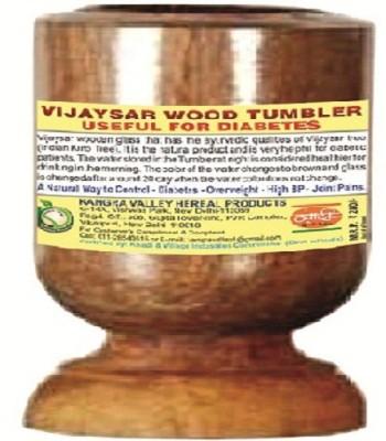 Khadi Natural Vijaysaar Wood Tumbler (Glass) Wood Mug