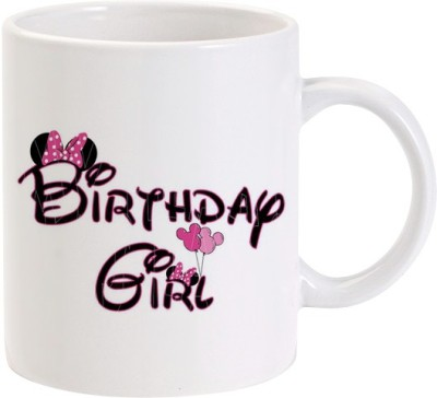 Lolprint Minnie Mouse Birthday Girl Ceramic Mug