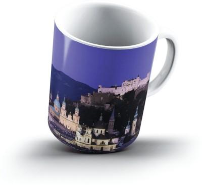 Ucard Salzburg Austria2669 Bone China, Ceramic, Porcelain Mug