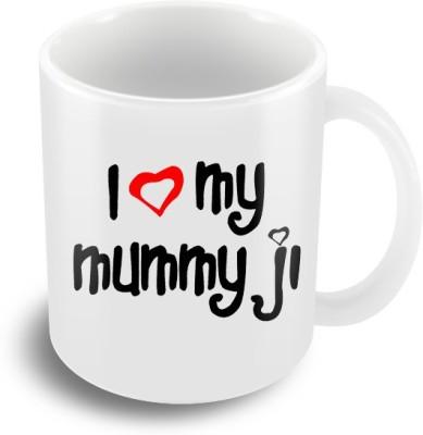 Keep Calm Desi I Love Mummyji  Ceramic Mug