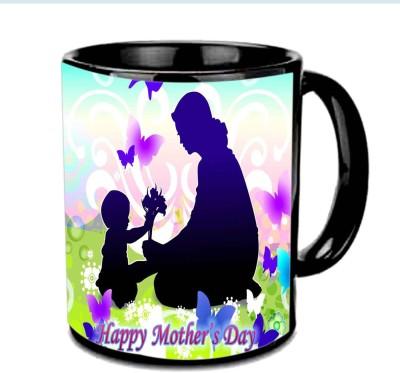 Jiya Creation1 Mother & Cute baby wallpaper Happy Mother,s day Multicolor Ceramic Mug
