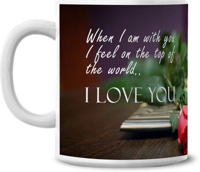 Lovely Collection Love Quote Ceramic Mug