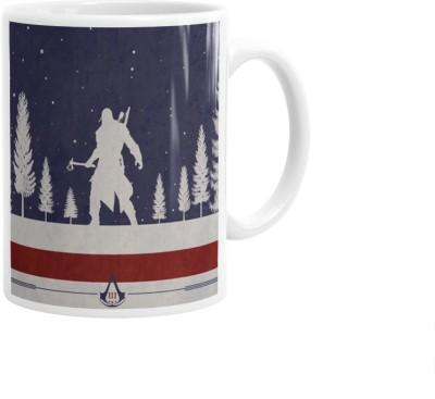 Hainaworld Assassins Creed Animated Coffee  Ceramic Mug