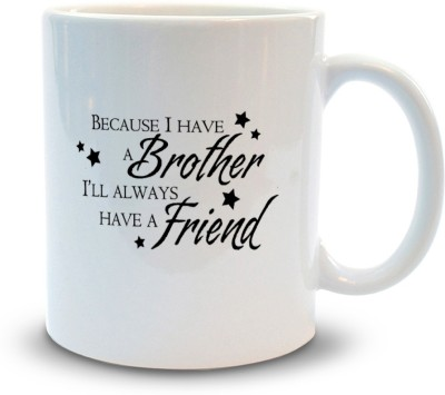 Shoppers Bucket Brother lIke Friend Ceramic Mug