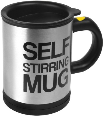 GeekGoodies Self Stirring Stainless Steel Mug