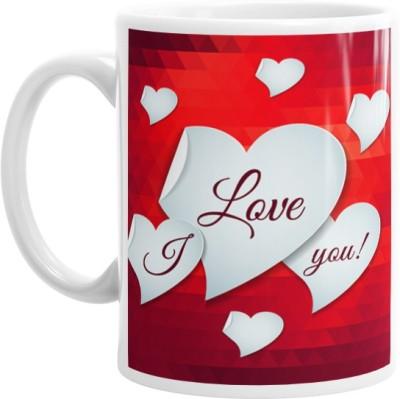 Hainaworld I Love You My Love Coffee  Ceramic Mug