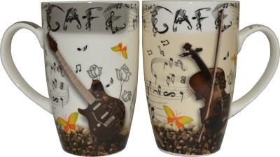 Neos Cafe Guitar Ceramic Mug