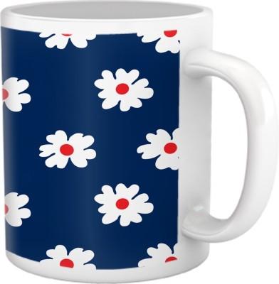 Tiedribbons Shy Shine_Geometric Multicolor_ Lady Gaga Pattern Ceramic Mug