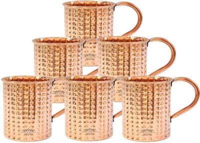Indian Craft Villa ICV-C9-140 Copper Mug