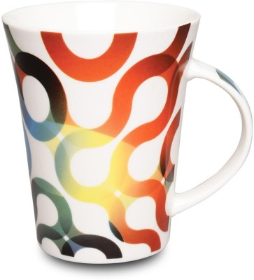 Its Our Studio Swirl Wave Ceramic  Ceramic Mug