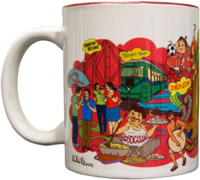 Idiot Theory Amader Kolkata Ceramic Mug